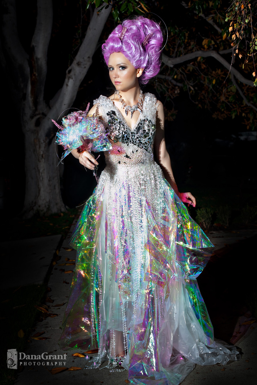 Evey Clothing Fiber Optics Dress + Feature on Rock n Roll Bride ...